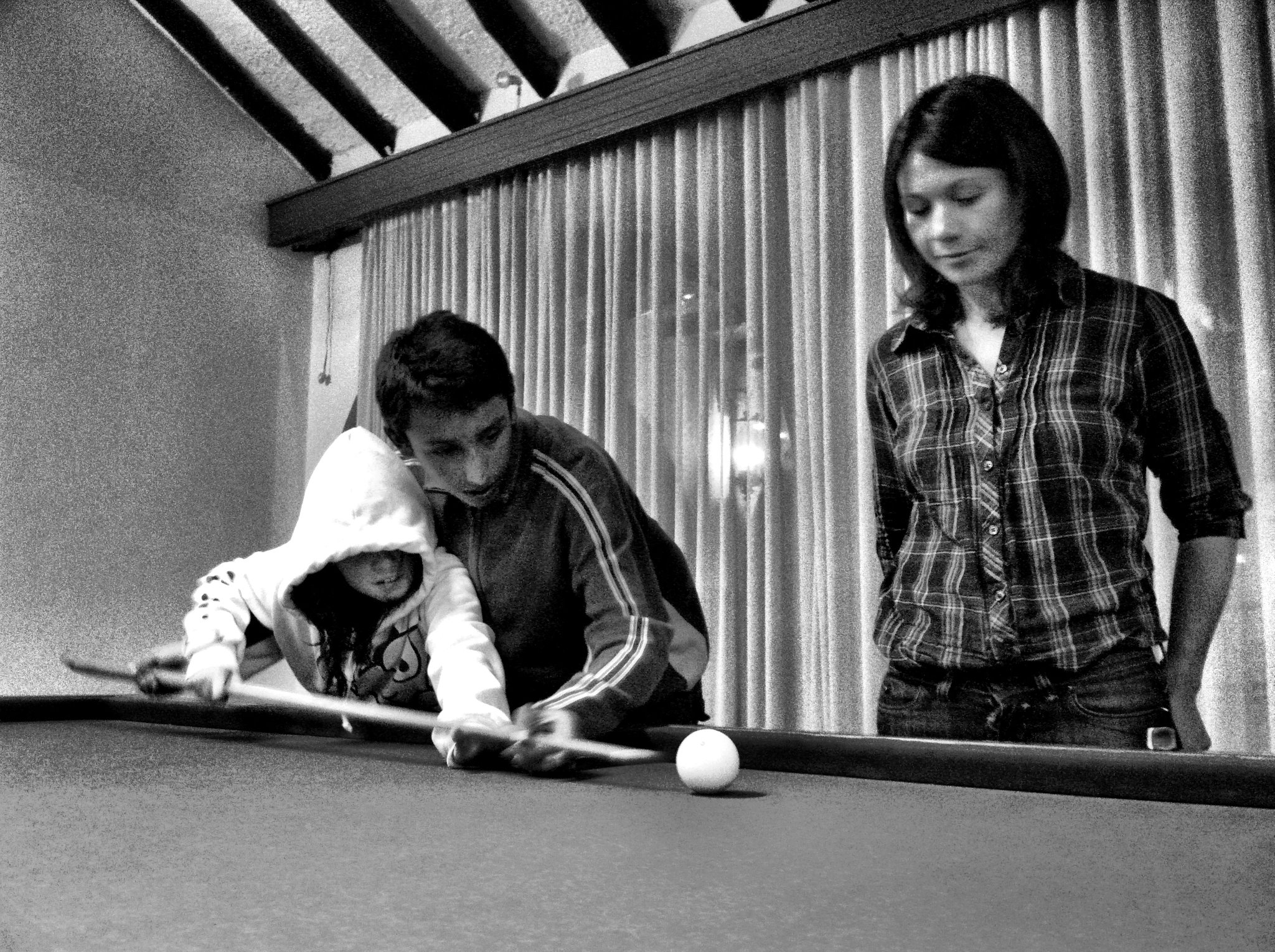 Manuelita, Lised y Egan Bernal